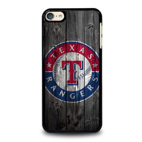 TEXAS RANGERS WOODEN LOGO iPod Touch 4 5 6 Generation 4th 5th 6th Case - Best Custom iPod Cover Design