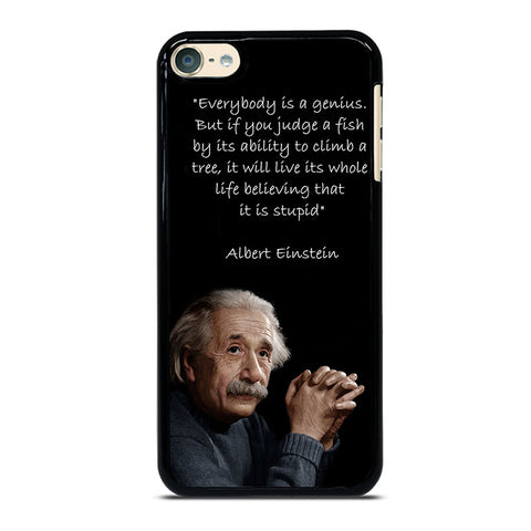 THE GENIUS ALBERT EINSTEIN QUOTE iPod Touch 4 5 6 Generation 4th 5th 6th Case - Best Custom iPod Cover Design