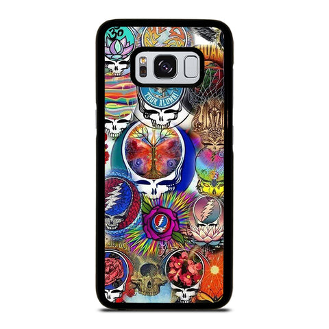 THE GRATEFUL DEAD LOGO-samsung-galaxy-S8-case