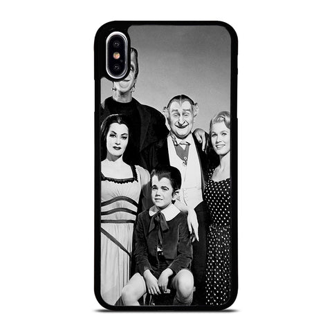 THE MUNSTERS IN COLOR FAMILY PORTRAIT-iphone-xs-max-case