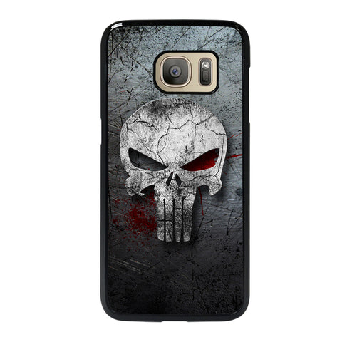 THE PUNISHER SKULL METAL-samsung-galaxy-S7-case