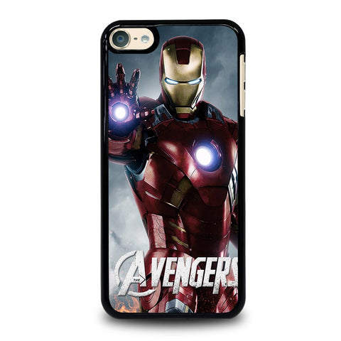 THE AVENGERS IRON MAN iPod Touch 4 5 6 Generation 4th 5th 6th Case - Best Custom iPod Cover Design