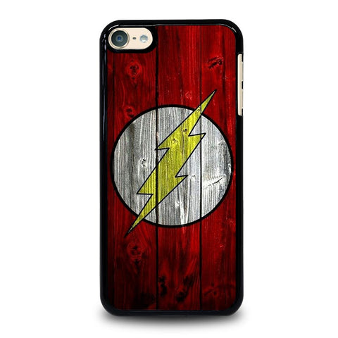 THE FLASH WOODEN iPod Touch 4 5 6 Generation 4th 5th 6th Case - Best Custom iPod Cover Design