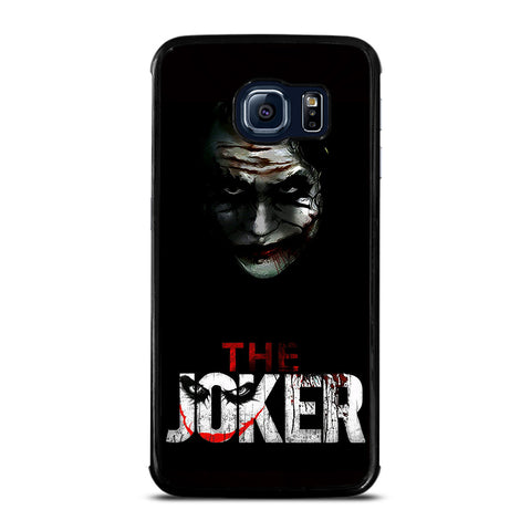 THE JOKER BLACK Samsung Galaxy S6 Edge Case