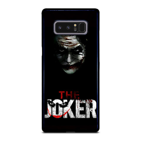 THE JOKER BLACK Samsung Galaxy Note 8 Case
