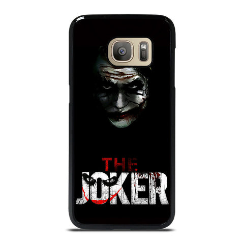 THE JOKER BLACK Samsung Galaxy S7 Case