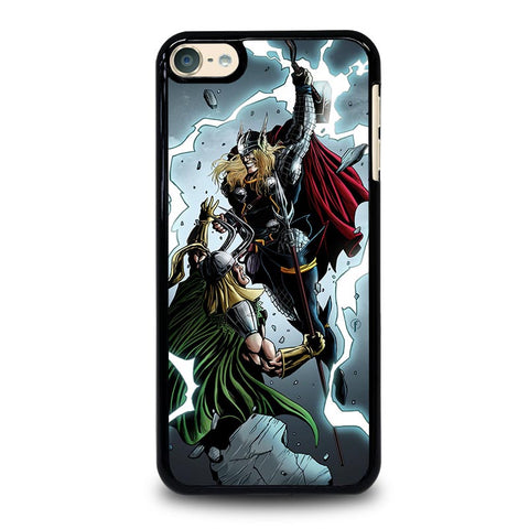 THOR VS LOKI  ANIME iPod Touch 4 5 6 Generation 4th 5th 6th Case - Best Custom iPod Cover Design