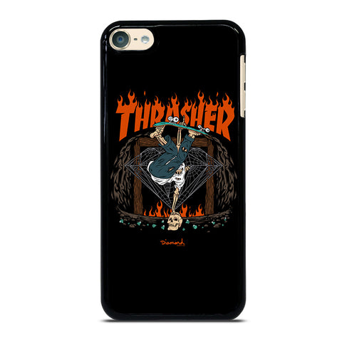 THRASHER DIAMOND SUPPLY CO iPod Touch 4 5 6 Generation 4th 5th 6th Case - Best Custom iPod Cover Design