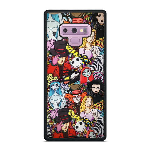 TIM BURTON CHARACTERS Samsung Galaxy Note 9 Case