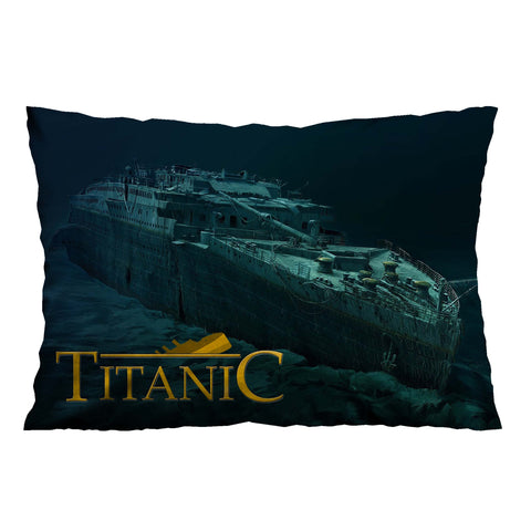 TITANIC WRECK Pillow Case Cover
