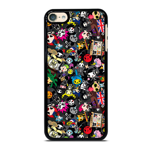 TOKIDOKI COLLAGE iPod Touch 4 5 6 Generation 4th 5th 6th Case - Best Custom iPod Cover Design