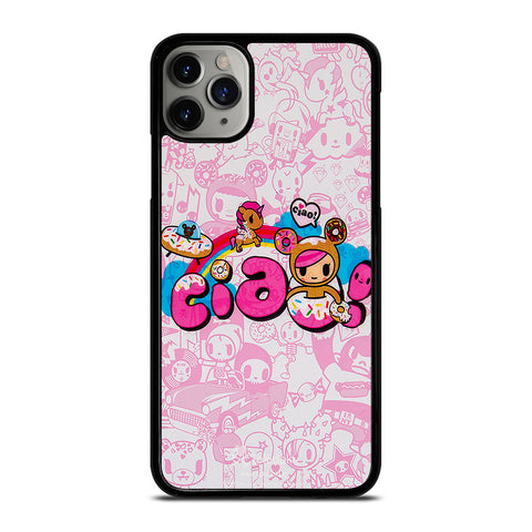 TOKIDOKI DONUTELLA UNICORNO CIAO iPhone 6/6S 7 8 Plus X/XS XR 11 Pro Max Case - Best Custom Phone Cover Design