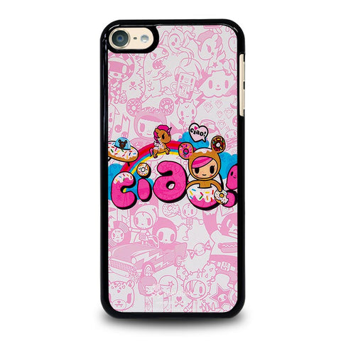 TOKIDOKI DONUTELLA UNICORNO CIAO iPod Touch 4 5 6 Generation 4th 5th 6th Case - Best Custom iPod Cover Design