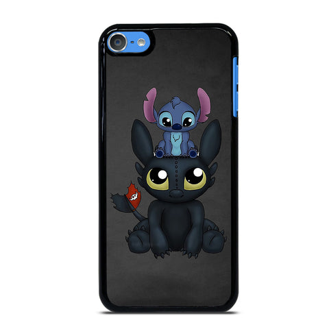 TOOTHLESS AND STITCH 2 iPod Touch 7 - Custom iPod 7th Gen Cover personalized Design