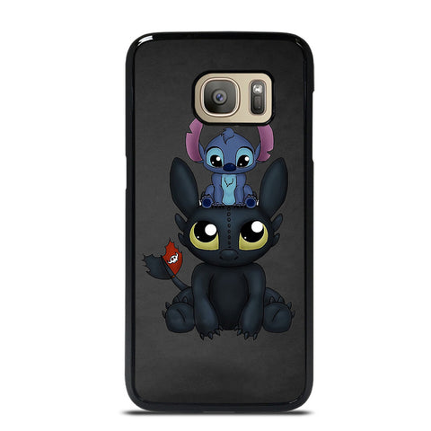 TOOTHLESS AND STITCH 2 Samsung Galaxy S7 Case