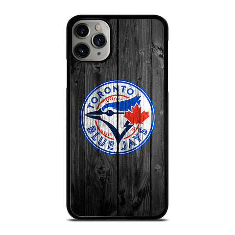 TORONTO BLUE JAYS WOODEN iPhone 6/6S 7 8 Plus X/XS XR 11 Pro Max Case - Best Custom Phone Cover Design