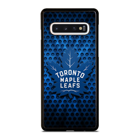 TORONTO MAPLE LEAFS LOGO METAL Samsung Galaxy S4 S5 S6 S7 S8 S9 S10 5G Plus S10e Edge Plus Note 5 8 9 10 10+ Case - Best Custom Phone Cover Design
