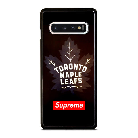 TORONTO MAPLE LEAFS SUPREME Samsung Galaxy S4 S5 S6 S7 S8 S9 S10 5G Plus S10e Edge Plus Note 5 8 9 10 Pro Case - Best Custom Phone Cover Design