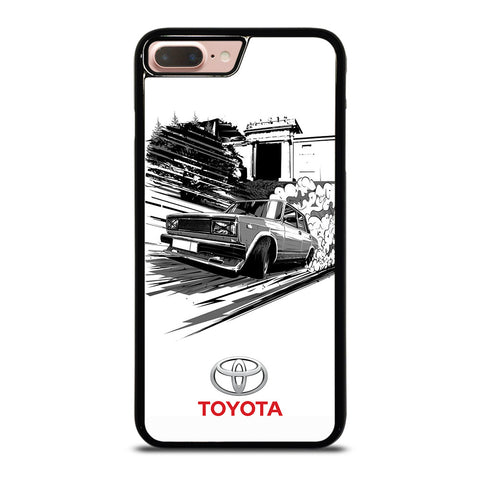 TOYOTA CAR CLASSIC SKETCH iPhone 8 Plus Case