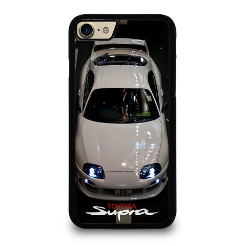 TOYOTA SUPRA WHITE CAR Phone 7 Case