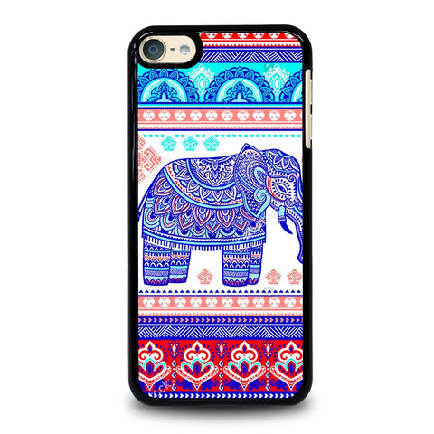 TRIBAL ORNAMENTSTOCK VECTOR ELEPANT iPod Touch 4 5 6 Generation 4th 5th 6th Case - Best Custom iPod Cover Design