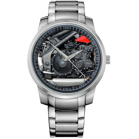 TRIUMPH SPEED TRIPLE STATICS-metal-watch