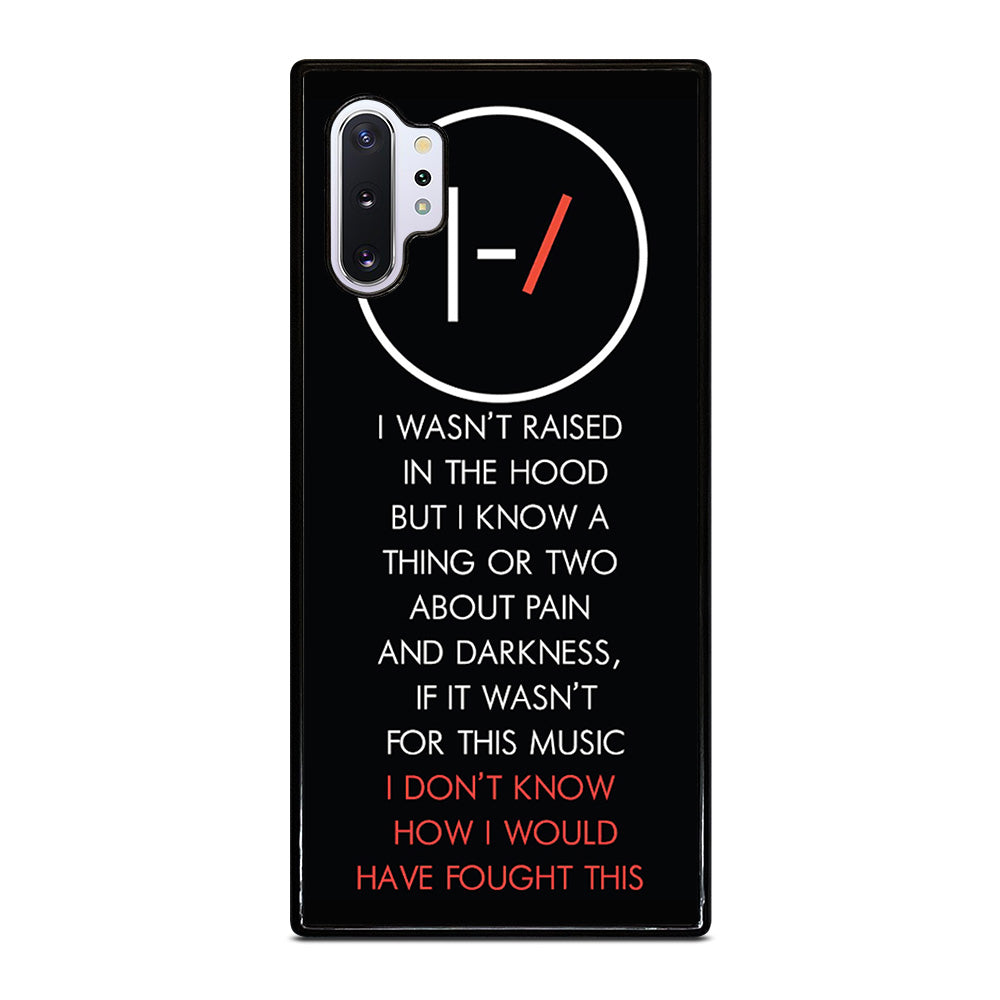 sale retailer f3803 58d10 TWENTY ONE PILOTS LYRIC iPhone 4/4S 5/5S/SE 5C 6/6S 7 8 Plus X Case -  Casefine