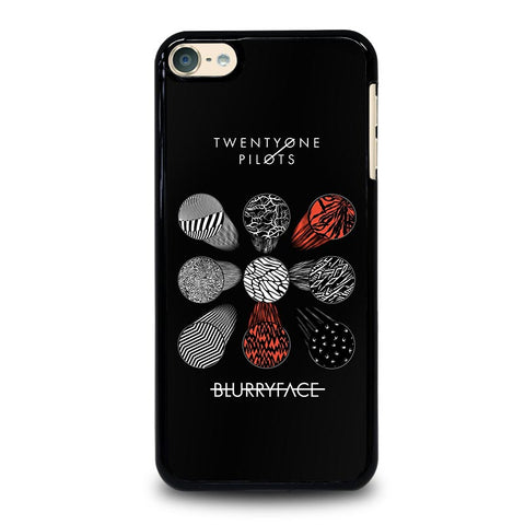 TWENTY ONE PILOTS BLURRYFACE iPod Touch 4 5 6 Generation 4th 5th 6th Case - Best Custom iPod Cover Design