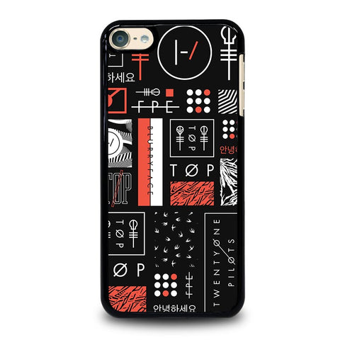 TWENTY ONE PILOTS BLURRYFACE ART iPod Touch 4 5 6 Generation 4th 5th 6th Case - Best Custom iPod Cover Design