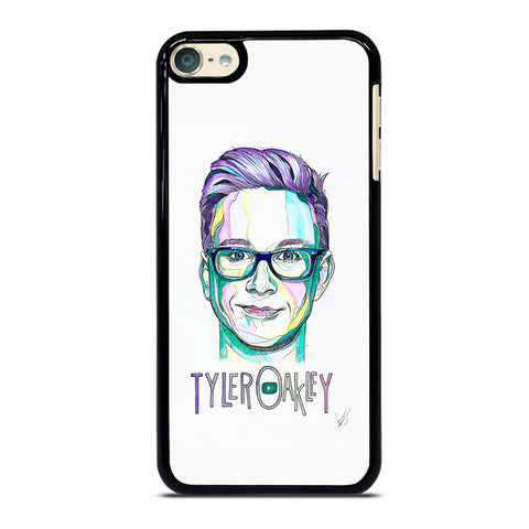 TYLER OAKLEY ART iPod Touch 4 5 6 Generation 4th 5th 6th Case - Best Custom iPod Cover Design
