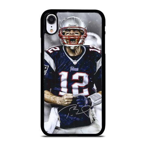 Tom Brady New England Patriots Nfl-iphone-xr-case