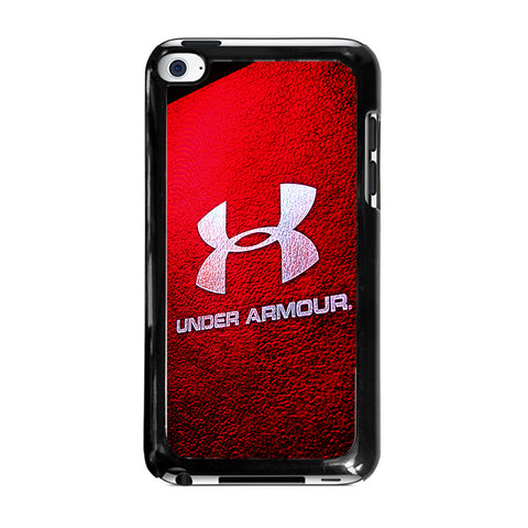 UNDER ARMOUR LOGO RED-ipod-touch-4-case
