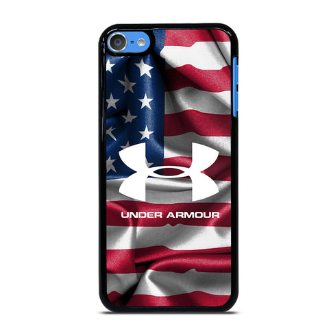 UNDER ARMOUR USA FLAG iPod Touch 7 - Custom iPod 7th Gen Cover personalized Design