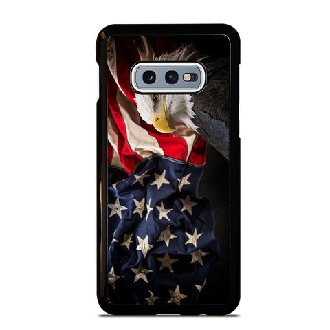 USA PATRIOTIC EAGLE FLAG 2 Samsung Galaxy S10e Case