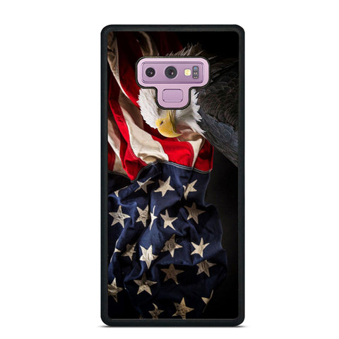 USA PATRIOTIC EAGLE FLAG 2 Samsung Galaxy Note 9 Case