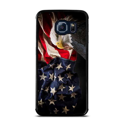 USA PATRIOTIC EAGLE FLAG 2 Samsung Galaxy S6 Edge Case