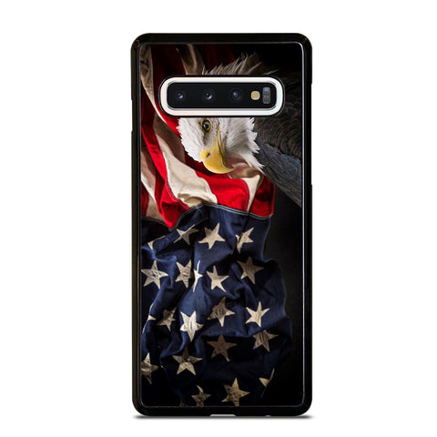 USA PATRIOTIC EAGLE FLAG 2 Samsung Galaxy S10 Case