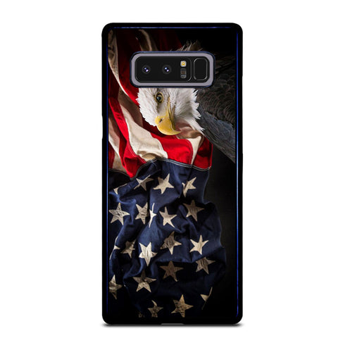 USA PATRIOTIC EAGLE FLAG 2 Samsung Galaxy Note 8 Case
