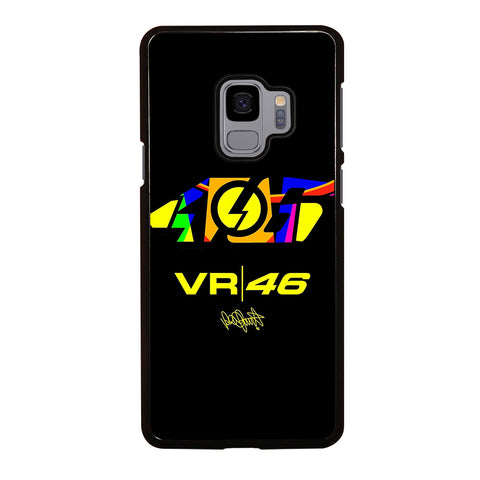 VALENTINO ROSSI 46 LOGO THE DOCTOR-samsung-galaxy-s9-case