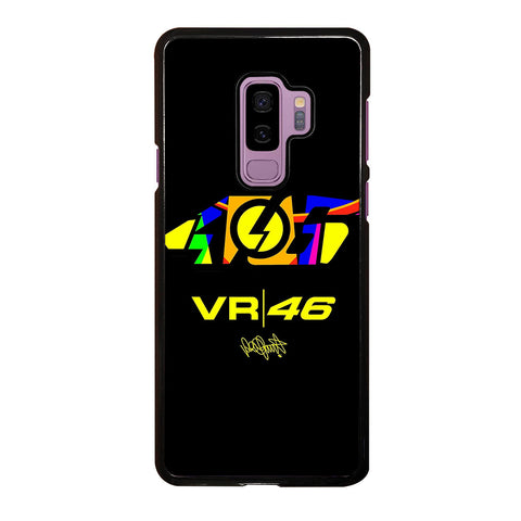 VALENTINO ROSSI 46 LOGO THE DOCTOR-samsung-galaxy-S9-plus-case