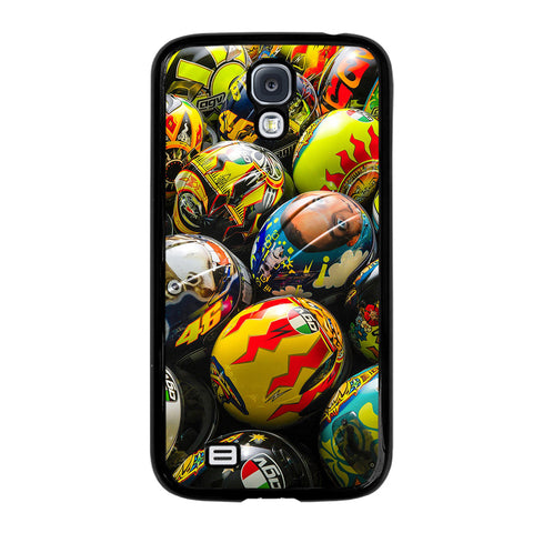 VALENTINO ROSSI AGV COLLECTION HELMETS-samsung-galaxy-S4-case