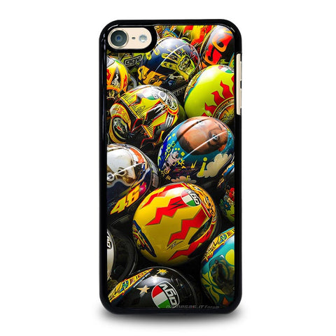 VALENTINO ROSSI AGV COLLECTION HELMETS iPod Touch 4 5 6 Generation 4th 5th 6th Case - Best Custom iPod Cover Design