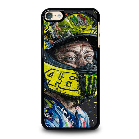 VALENTINO ROSSI ART 46 iPod Touch 4 5 6 Generation 4th 5th 6th Case - Best Custom iPod Cover Design