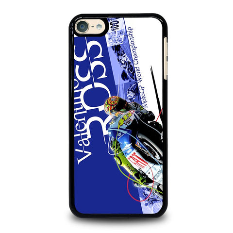 VALENTINO ROSSI MOTOGP CHAMPIONSHIP iPod Touch 4 5 6 Generation 4th 5th 6th Case - Best Custom iPod Cover Design