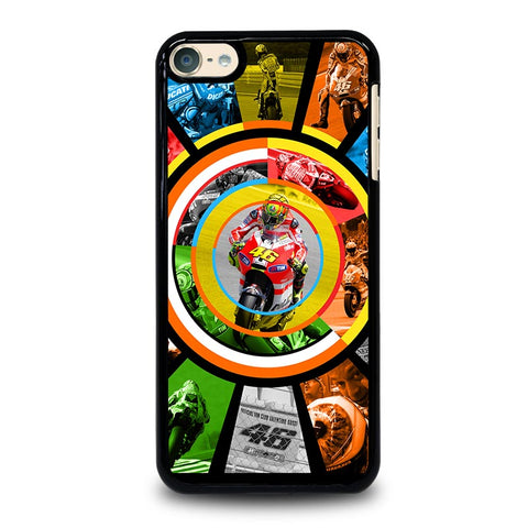 VALE 46  VALENTINO ROSSI iPod Touch 4 5 6 Generation 4th 5th 6th Case - Best Custom iPod Cover Design