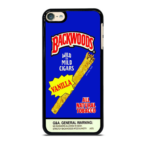 VANILLA BACKWOODS iPod Touch 4 5 6 Generation 4th 5th 6th Case - Best Custom iPod Cover Design