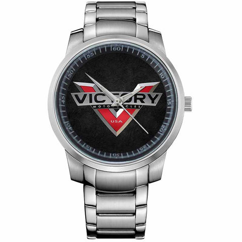 VICTORY LOGO MOTORCYCLE-metal-watch