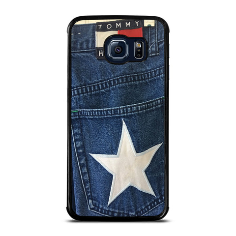 VINTAGE 90s TOMMY HILFIGER DENIM Samsung Galaxy S6 Edge Case