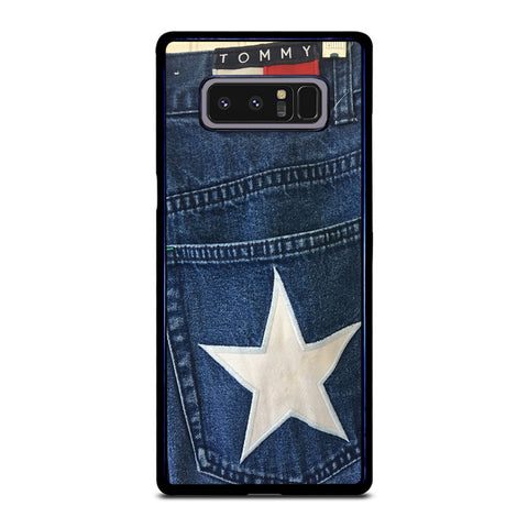 VINTAGE 90s TOMMY HILFIGER DENIM Samsung Galaxy Note 8 Case