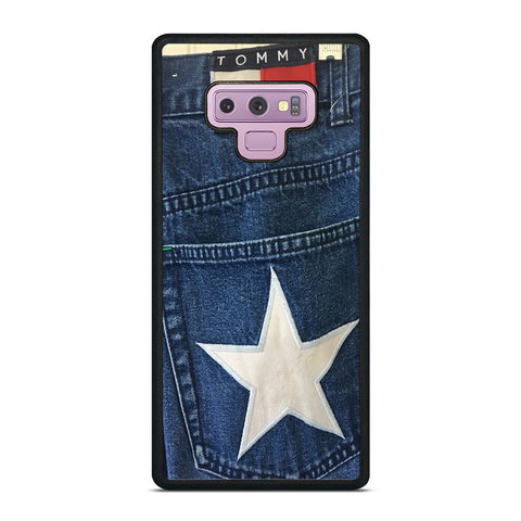VINTAGE 90s TOMMY HILFIGER DENIM Samsung Galaxy Note 9 Case